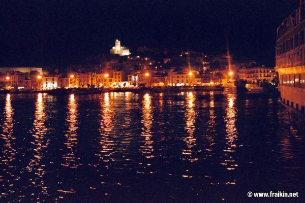 Ibiza 2004/Ibiza Stadt Burg Nacht - Fotos - Markus Fraikin: www.fraikin.net/fotos/displayimage-8-46.html
